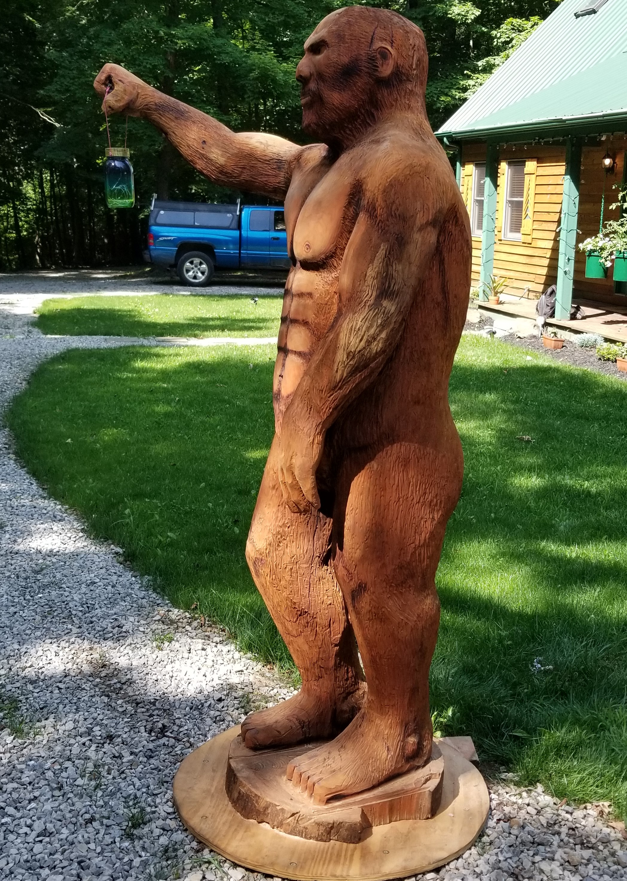 (Sold) Woody the Sasquatch