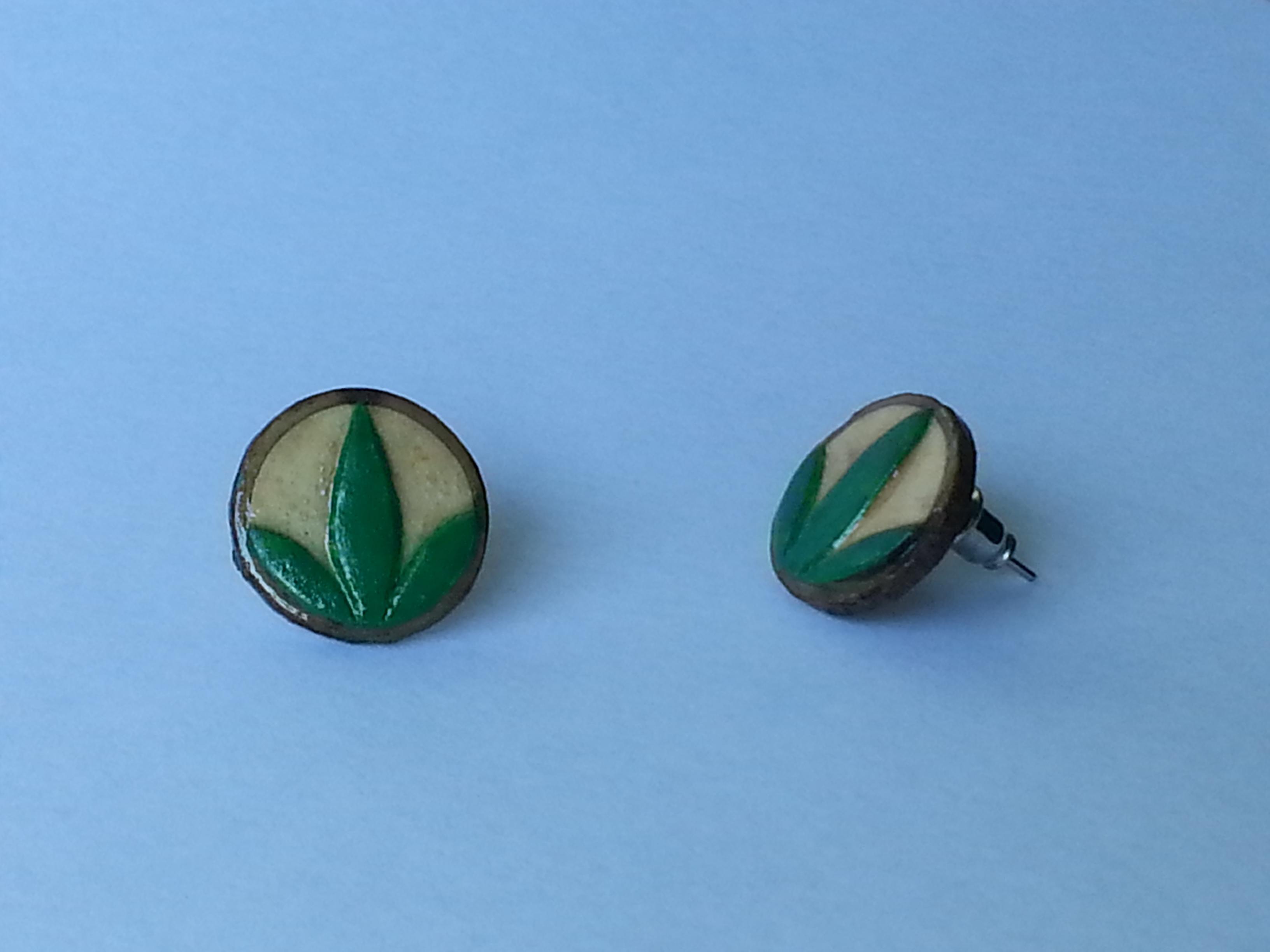 Herbalife Custom Earrings (Maple)