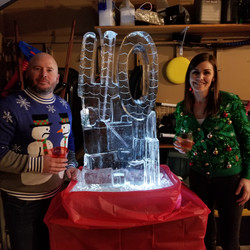 Katie's 40th Ice Luge
