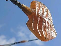 Resin Cast of Leaf