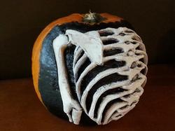 Skeletal Pumpkin