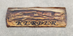 (Sold) Kerber Family Sign