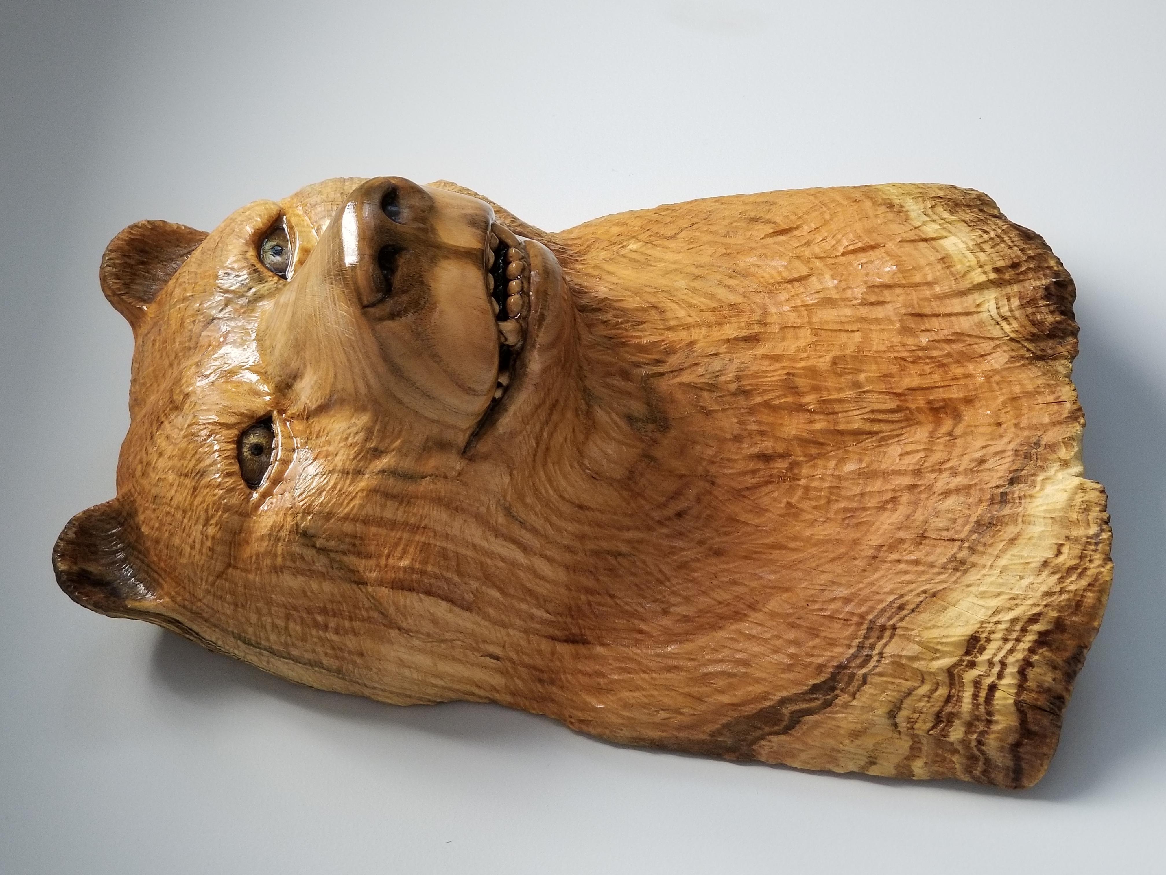 (Sold) Wood Golden Bear