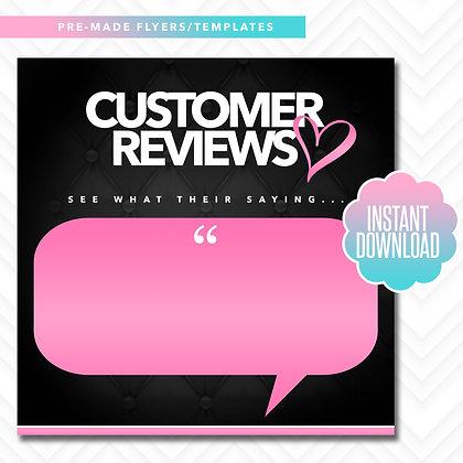 Customer Reviews (Black and Pink)