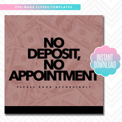No Deposit, No Appointment (Rose Gold)