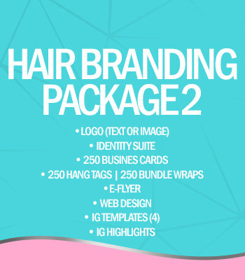 Hair Branding Package 2