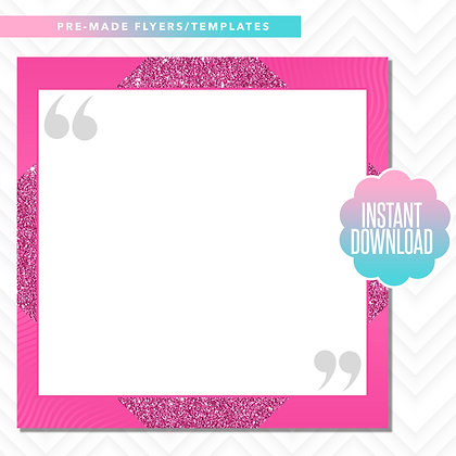 Quote Template (Pink)