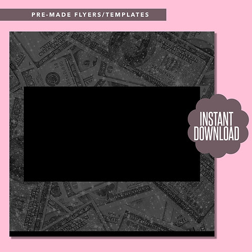 Blank Money Template (Black)