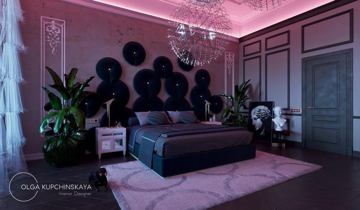 Авторский дизайн спальни