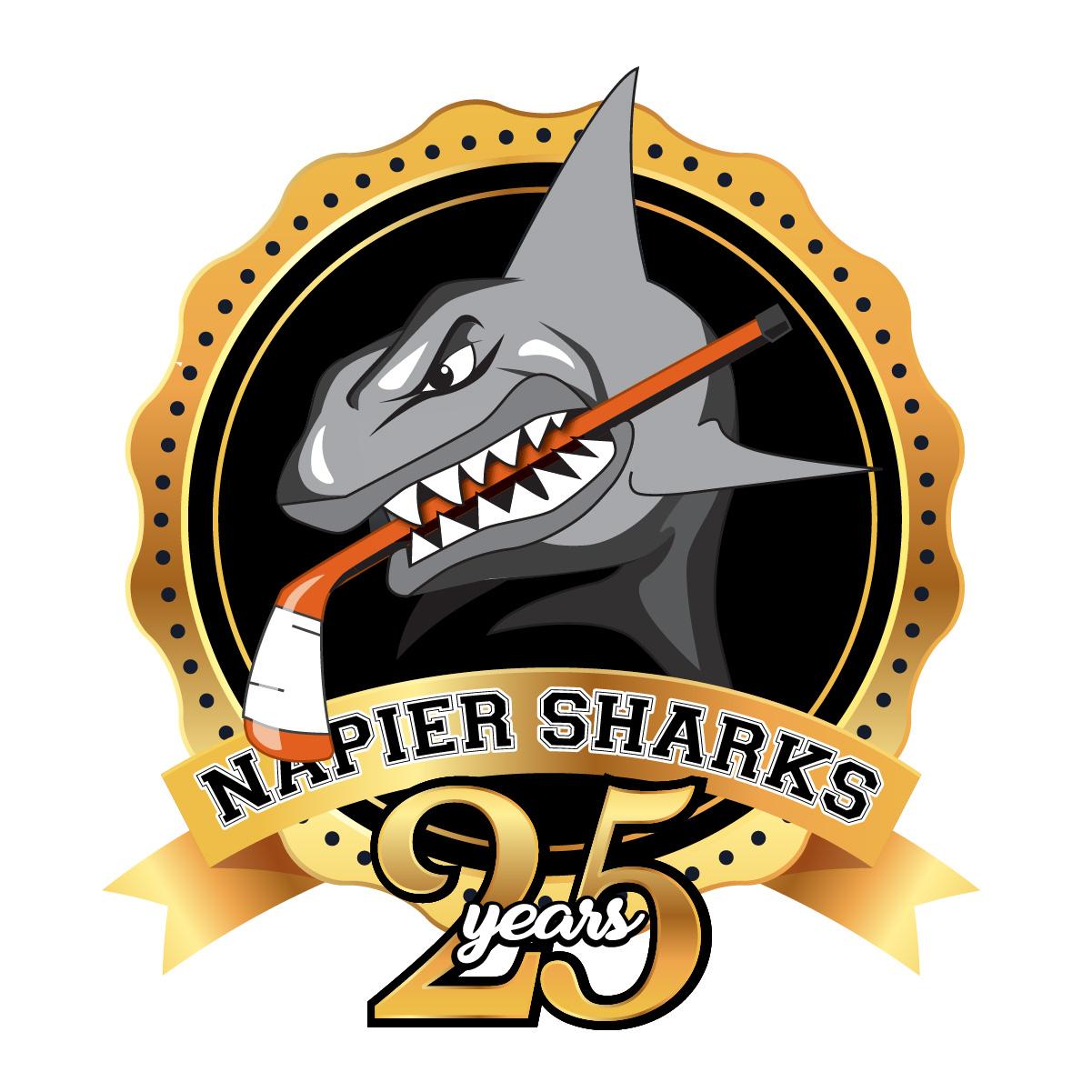 Sharks 25 Years Logo-01