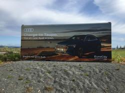 Eurocity airport banner