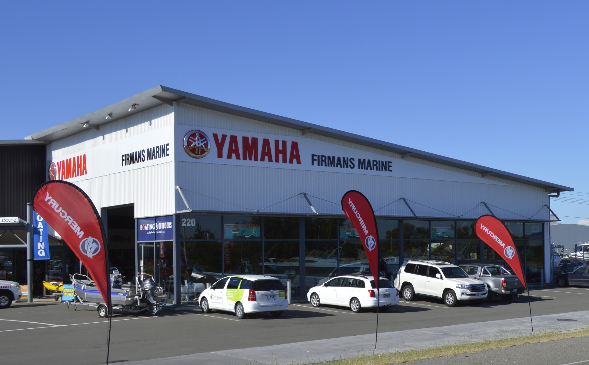 Firmans Marine, Yamaha