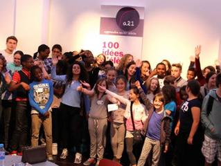 100 idées d'élèves pour changer l'école