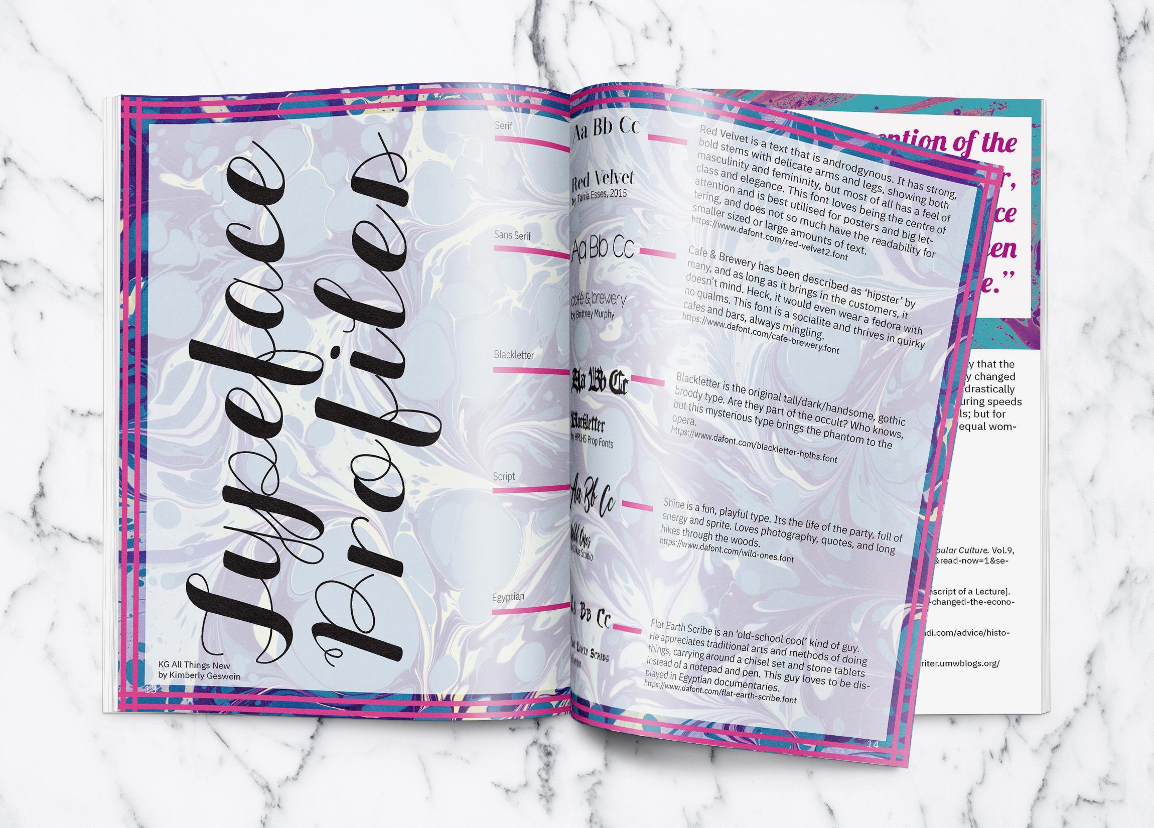 Letterpress Magazine 4