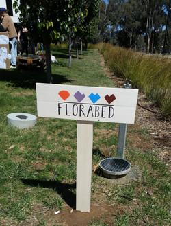 Florabed Sign