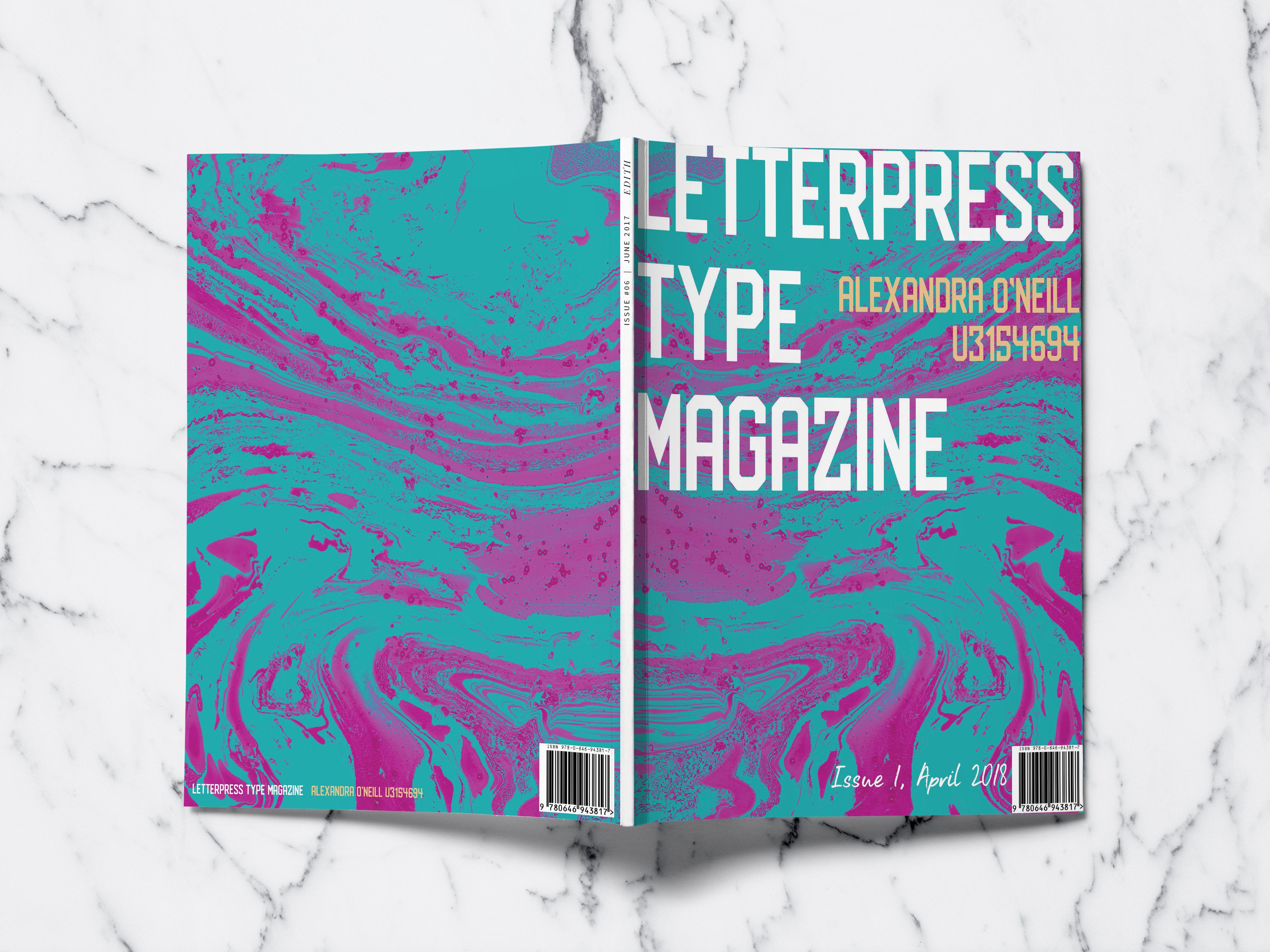 Letterpress Magazine 1