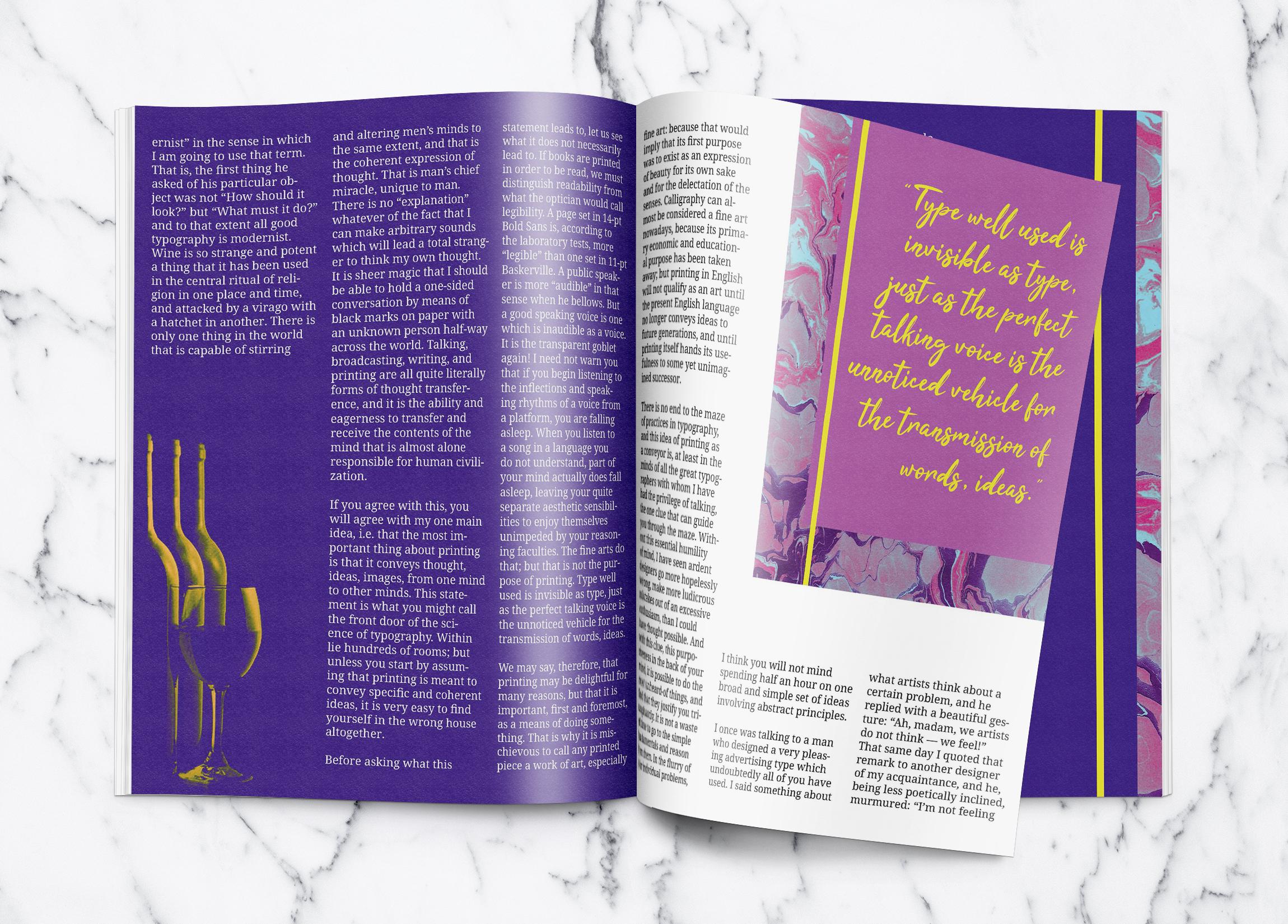 Letterpress Magazine 3