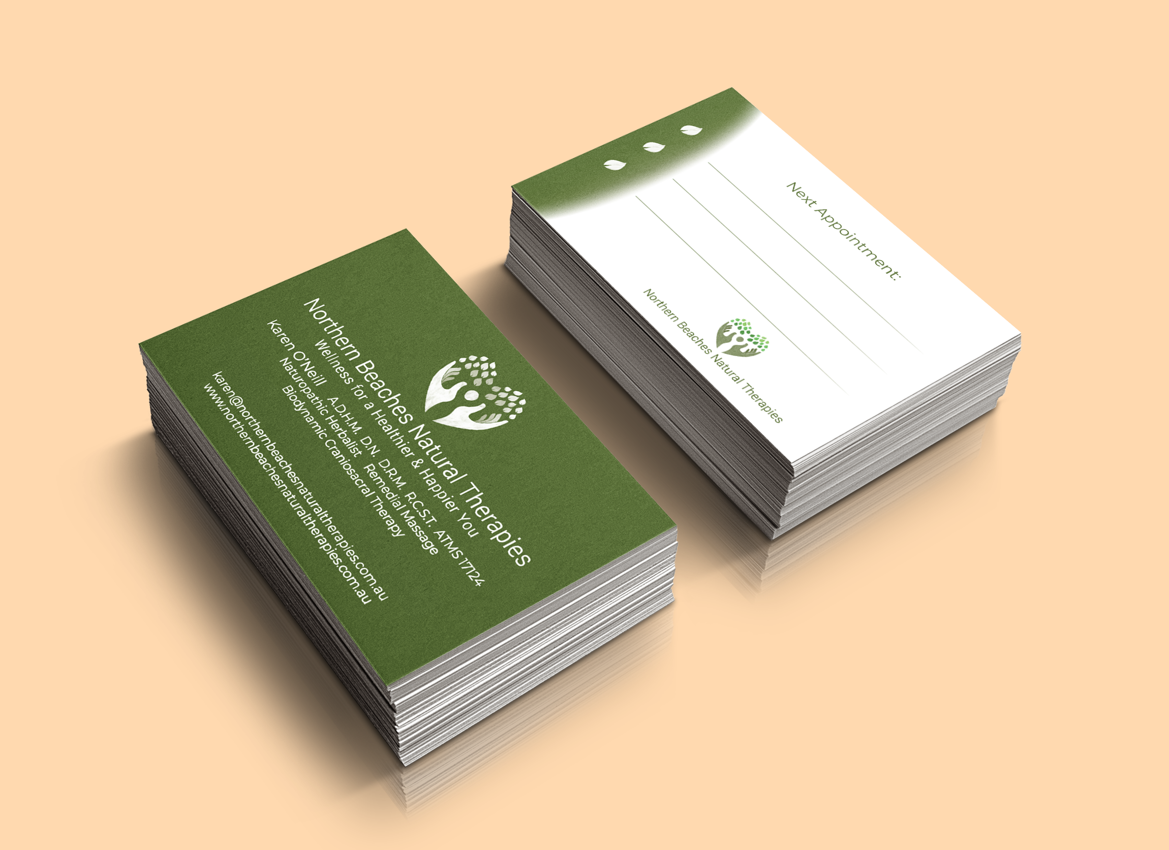 Northern Beaches Natural Therapies Cards