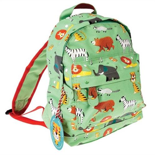 Green Animals Mini Backpack
