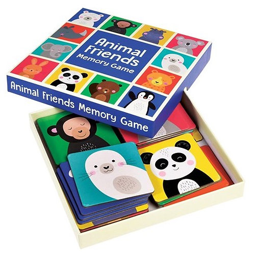 Animal Friends Card Memory Game