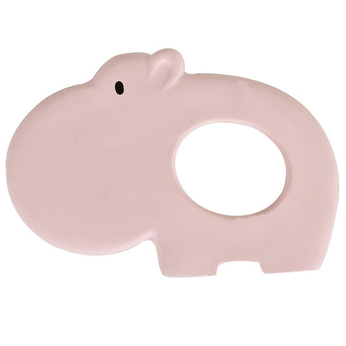 Natural Rubber Teether – Hippo