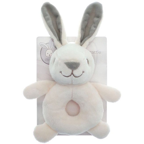 Little Bunny Plush Rattle