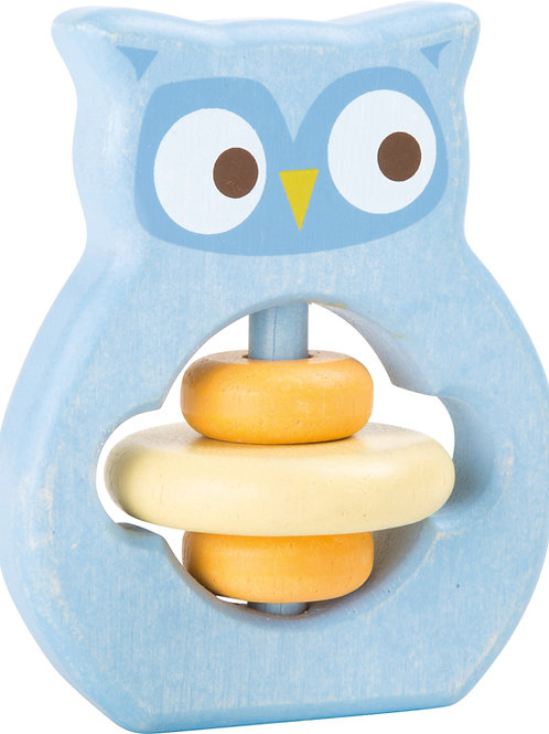 Owl Grip & Rattle