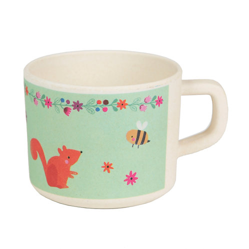 Woodland Friends Bamboo Kid's Mug