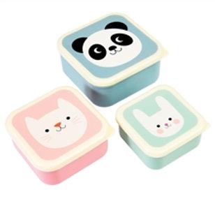 Animal Snack Box - set of 3