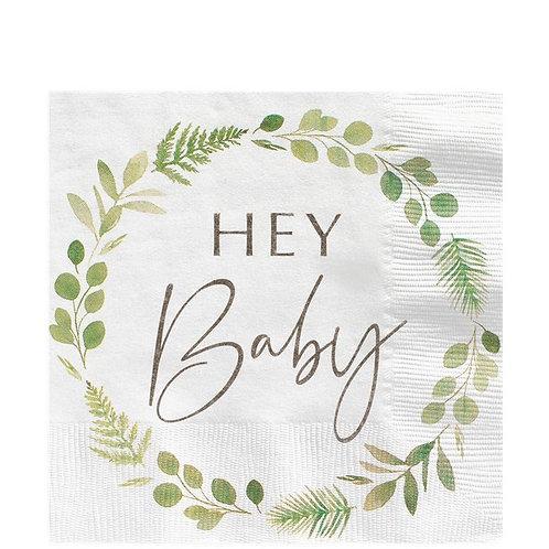 Botanical Baby Paper Napkins