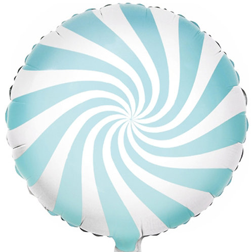Light Blue Sweet Candy Foil Balloon - 18 Inch