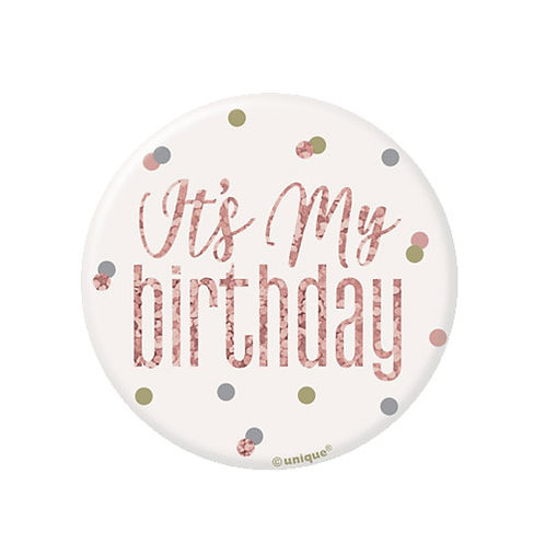 It's My Birthday Badge