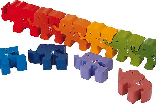 Elephant Plug Puzzle