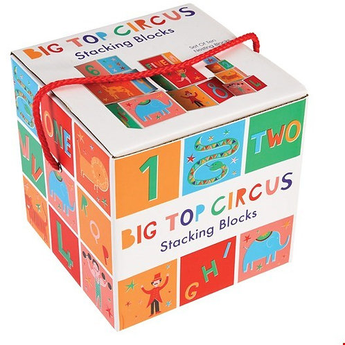 Big Top Circus Stacking Blocks