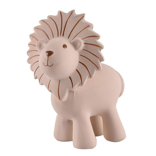 Lion Natural Rubber Rattle & Bath Toy