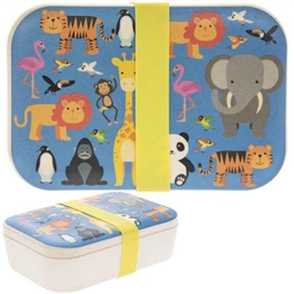 Zoo Bamboo Eco Lunch Box