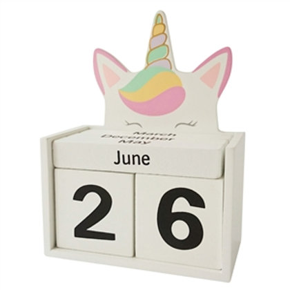 Unicorn Block Calendar