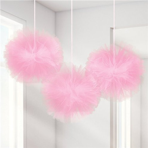 Fluffy Pink Tulle Decoration
