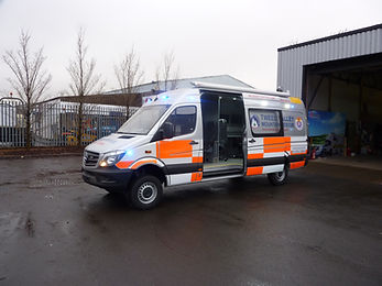Mountain Rescue Vehicle