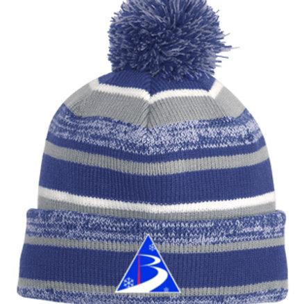 Royal Blue Pom Pom Hat Bradford Ski