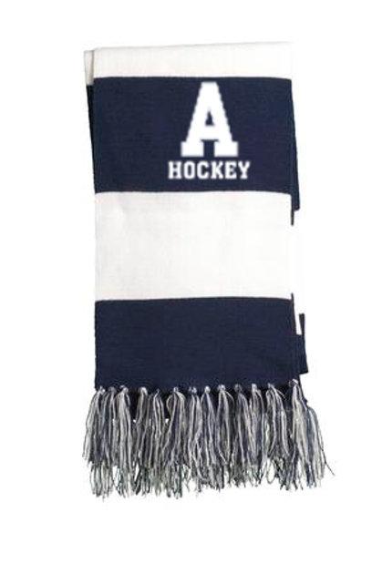 Navy/White Scarf PA Hockey