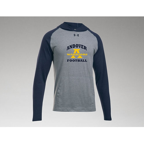 Under Armour Navy-Grey Stadium Hoody AHS Football