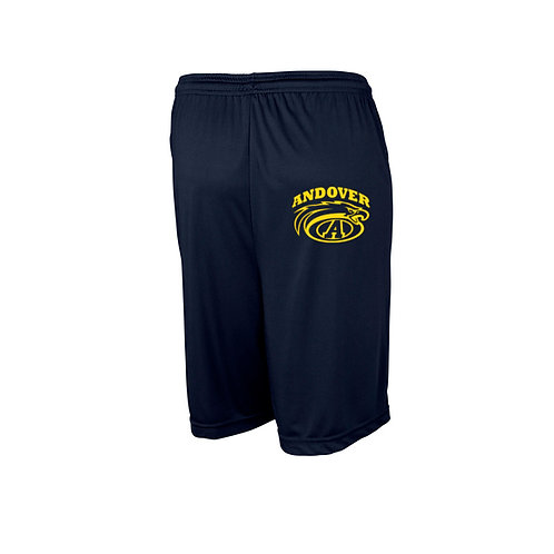 Navy Shorts with pockets Andover Wrestling