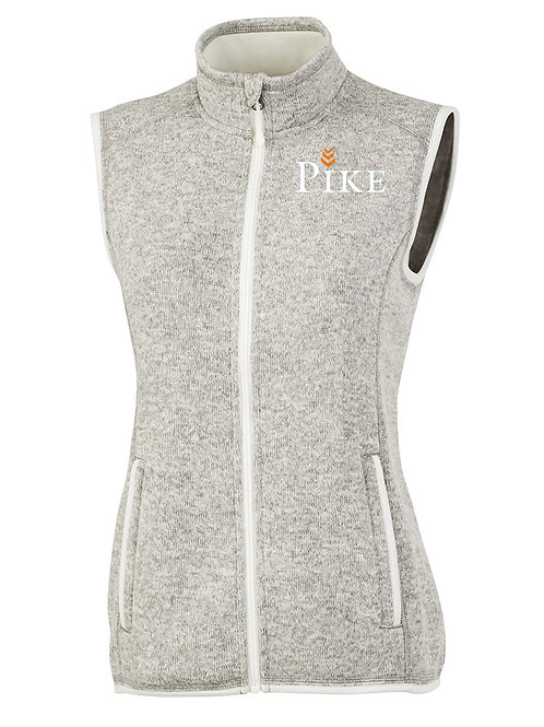 Womens Charles River Pacific Heathered Vest