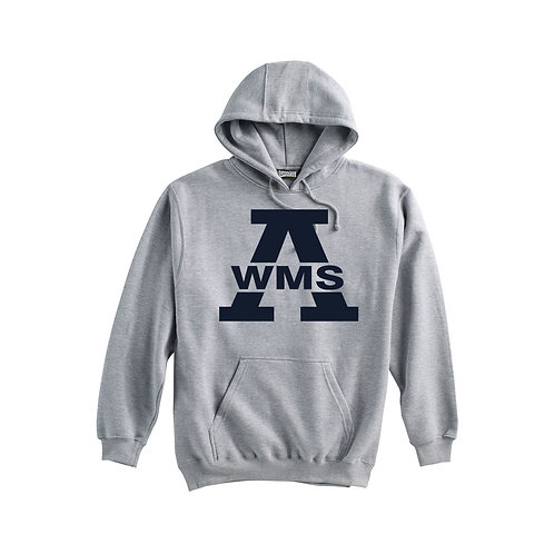 Gray Pennant Hoodie West Middle
