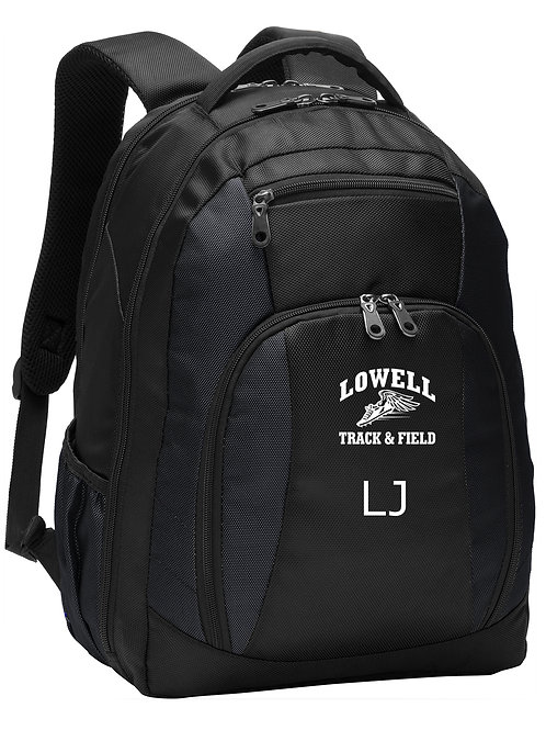 Black Port Authority Backpack Lowell Track