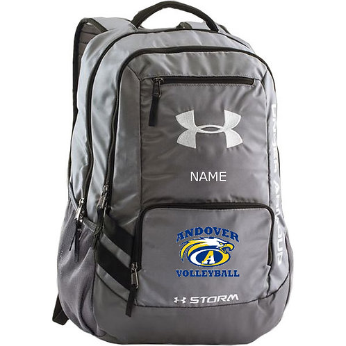 Grey UA backpack AHS VBall