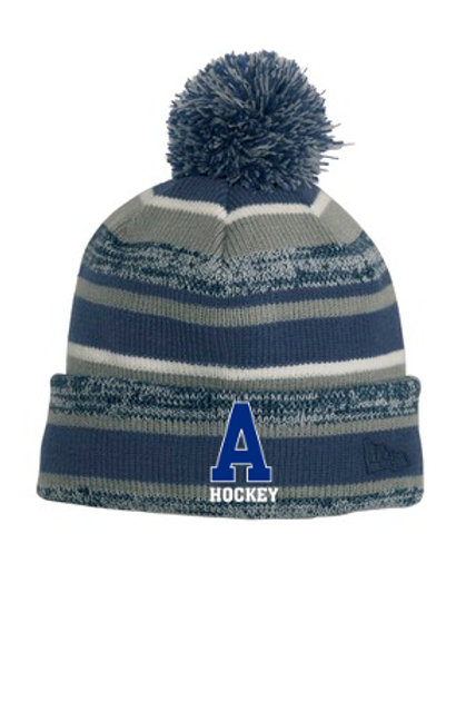 Navy/White New Era Hat PA Hockey