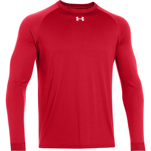 Red Under Armour Performance Long Sleeve