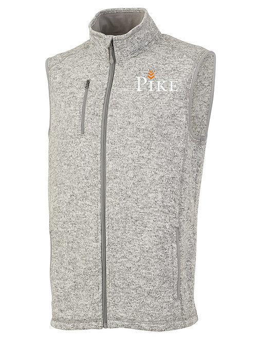 Mens Charles River Pacific Heathered Vest
